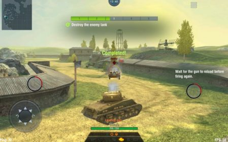 Геймплей world-of-tanks-blitz